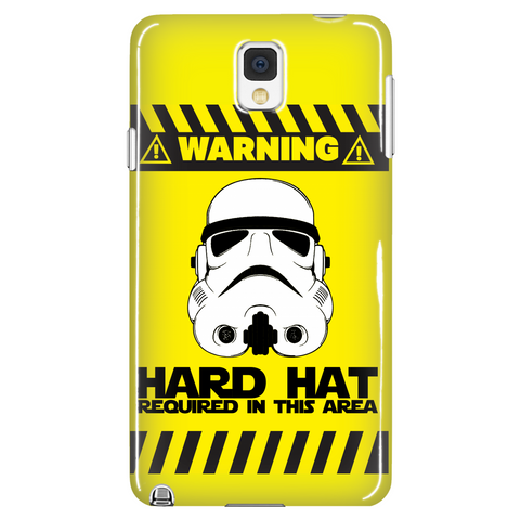 Hard Hat Required Phone Case LIMITED EDITION - The Nerd Cave - 1