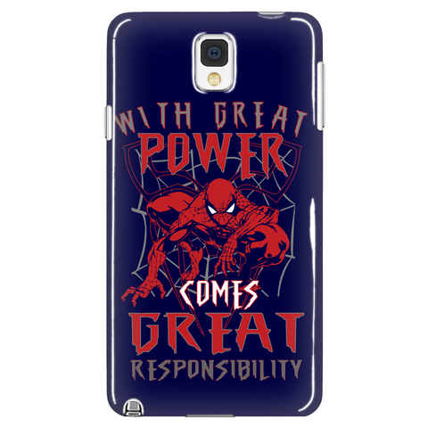Great Power Phone Case LIMITED EDITION - The Nerd Cave - 1