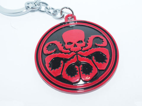 HYDRA Metal Keychain - The Nerd Cave