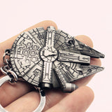 Millenium Falcon Metal Keychain - The Nerd Cave - 1
