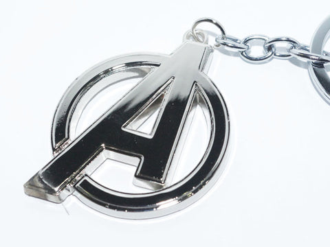 """A"" Sign Metal Keychain - The Nerd Cave - 1"