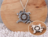 Song of Ice and Fire Compass Necklace - The Nerd Cave - 2