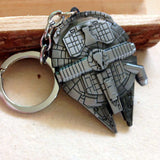 Millenium Falcon Metal Keychain - The Nerd Cave - 3