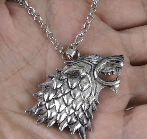 Direwolf Necklace - The Nerd Cave - 1