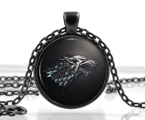 House of Stark Necklace - The Nerd Cave - 1