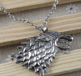 Direwolf Necklace - The Nerd Cave - 2