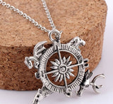 Song of Ice and Fire Compass Necklace - The Nerd Cave - 1