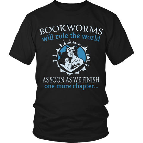 Bookworms Will Rule The World LIMITED EDITION - The Nerd Cave - 1