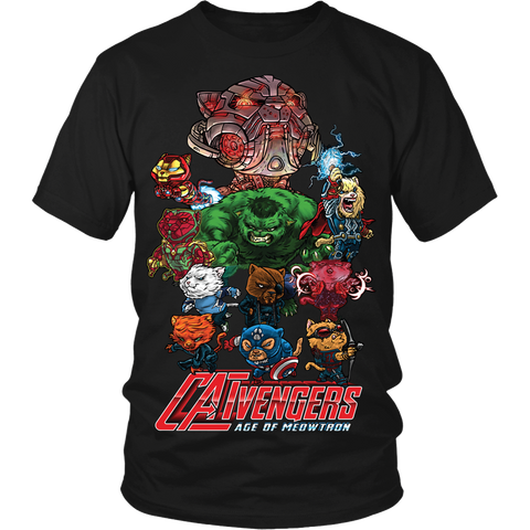 "Catvengers ""Age Of Meowtron"" LIMITED EDITION - The Nerd Cave - 1"