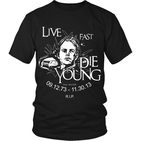 Live Fast, Die Young LIMITED EDITION - The Nerd Cave - 1