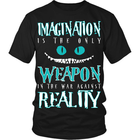 Imagination Is the Only Weapon LIMITED EDITION - The Nerd Cave - 1