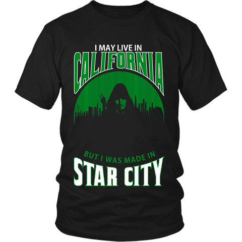 I May Live In California But I Was Made in Star City LIMITED EDITION - The Nerd Cave - 1