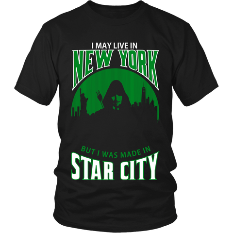 I May Live In New York But I Was Made in Star City LIMITED EDITION - The Nerd Cave - 1