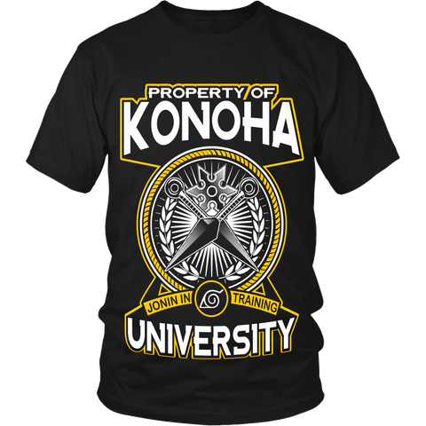 Property Of Konoha University LIMITED EDITION - The Nerd Cave - 3