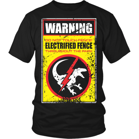 Do Not Touch The Electrified Fence LIMITED EDITION - The Nerd Cave - 3