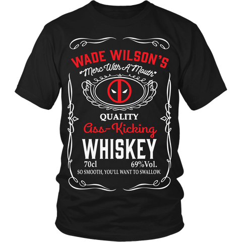 Wade Wilson's Whiskey LIMITED EDITION - The Nerd Cave - 1