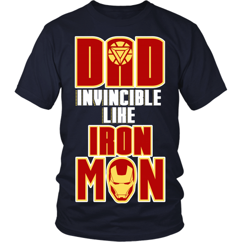 Dad Invincible Like IM LIMITED EDITION - The Nerd Cave - 1