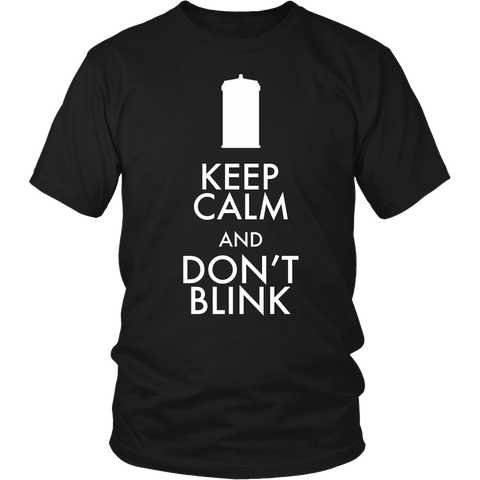 Keep Calm And Don't Blink LIMITED EDITION - The Nerd Cave - 1
