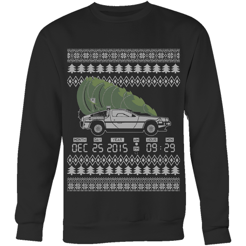 Back To The Christmas - Ugly Sweater LIMITED EDITION - The Nerd Cave - 1