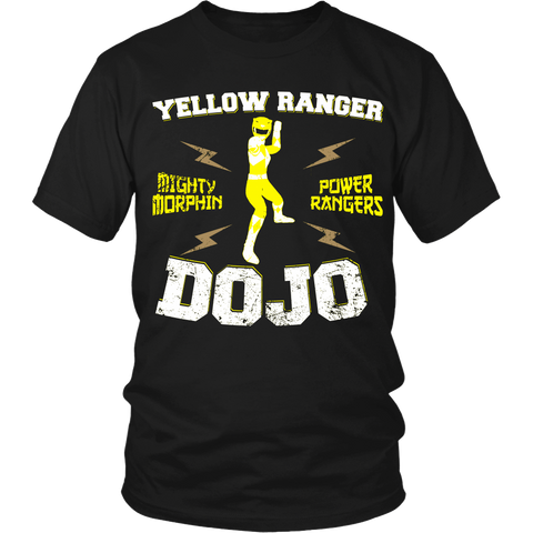 Yellow Ranger Dojo LIMITED EDITION - The Nerd Cave - 1