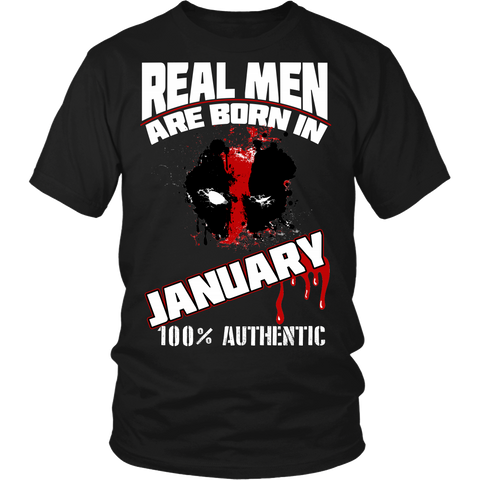 Real Men Are Born In January LIMITED EDITION - The Nerd Cave - 3