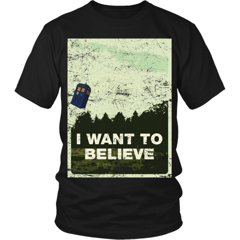 I Want To Believe LIMITED EDITION - The Nerd Cave - 1