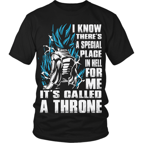 A Throne Is My Special Place In Hell LIMITED EDITION - The Nerd Cave - 1