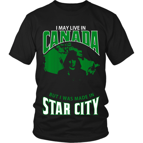 I May Live In Canada But I Was Made in Star City LIMITED EDITION - The Nerd Cave - 1