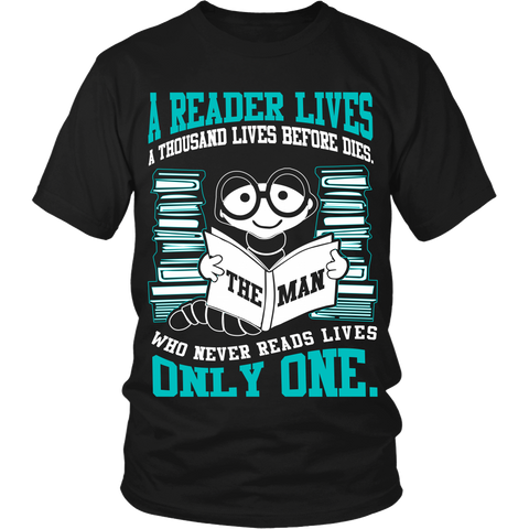 A Reader Lives a Thousand Lives LIMITED EDITION - The Nerd Cave - 1