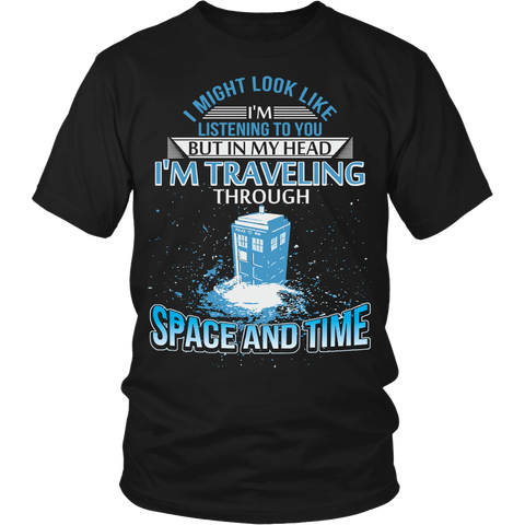 I'm Travelling Through Space And Time LIMITED EDITION - The Nerd Cave - 1