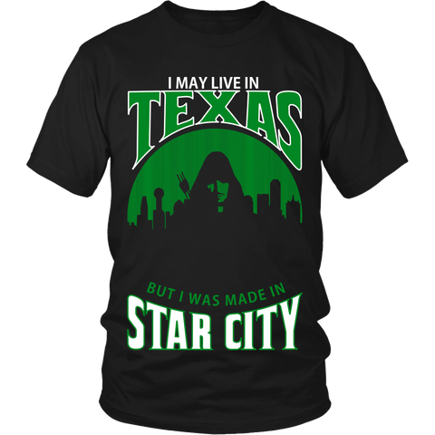 I May Live In Texas But I Was Made in Star City LIMITED EDITION - The Nerd Cave - 1