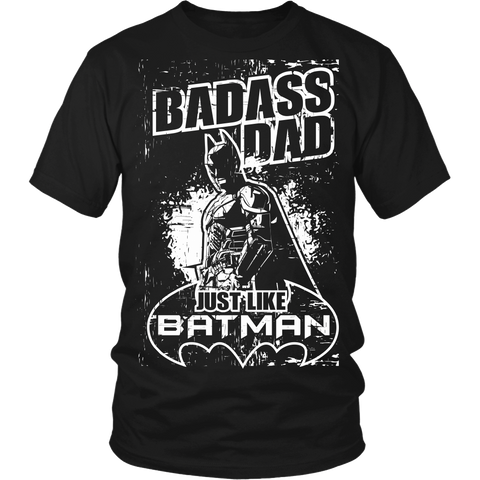 Bad Azz Dad Like The Dark Knight LIMITED EDITION - The Nerd Cave - 3