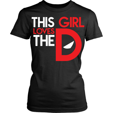 This Girl Loves The DPool LIMITED EDITION - The Nerd Cave - 1