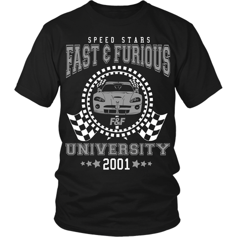 Fast And Furious University LIMITED EDITION - The Nerd Cave - 1