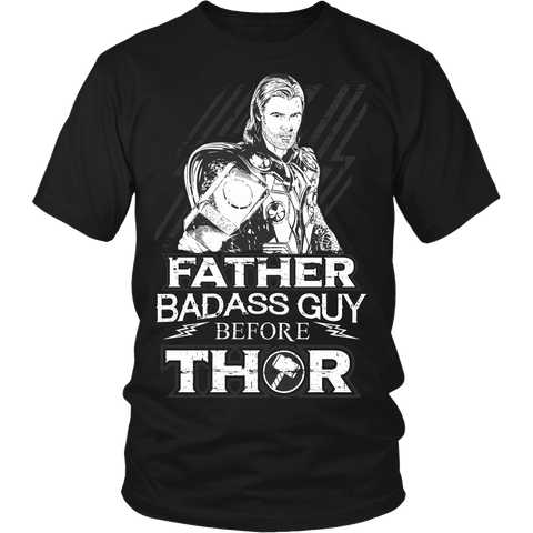 Father Is More Baddass Than The Son Of Odin LIMITED EDITION - The Nerd Cave - 3