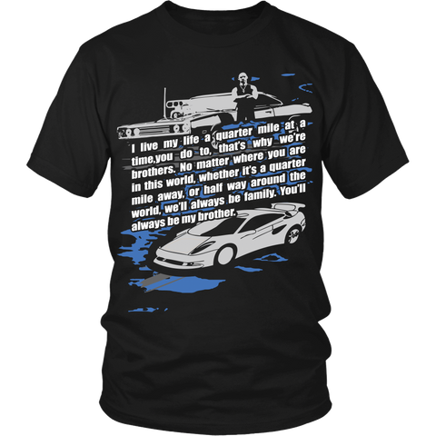 Quarter Mile At A Time LIMITED EDITION - The Nerd Cave - 1