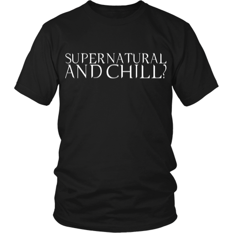 Supernatural And Chill LIMITED EDITION - The Nerd Cave - 1
