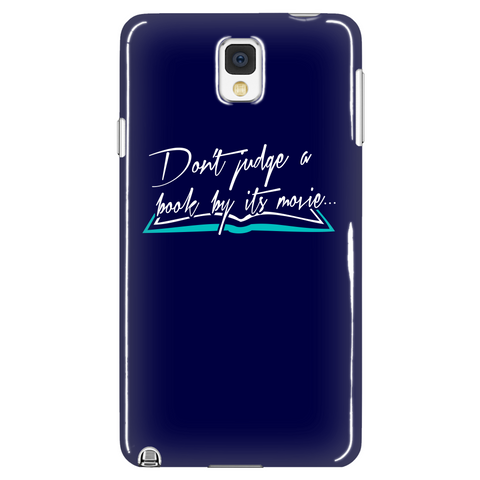 Don't Judge A Book By Its Movie Phone Case LIMITED EDITION - The Nerd Cave - 1