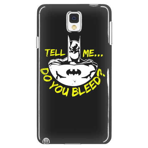 Do You Bleed Phone Case LIMITED EDITION - The Nerd Cave - 1
