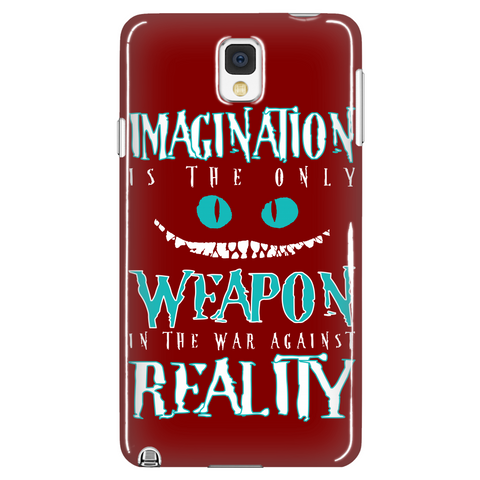 Imagination Is the Only Weapon Phone Case LIMITED EDITION - The Nerd Cave - 1