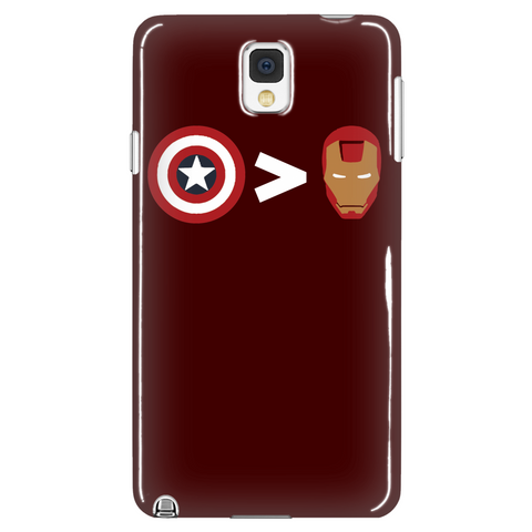 Captian Civil War Phone Case LIMITED EDITION - The Nerd Cave - 1