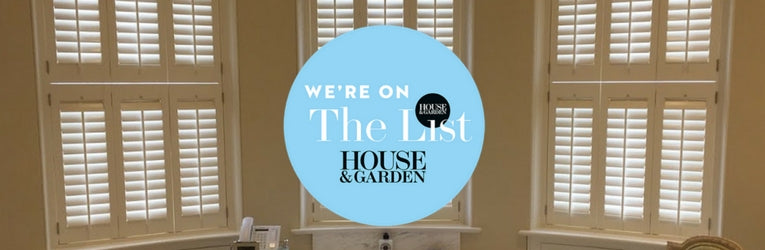 The Shutter Shop becomes part of The List directory by House & Garden