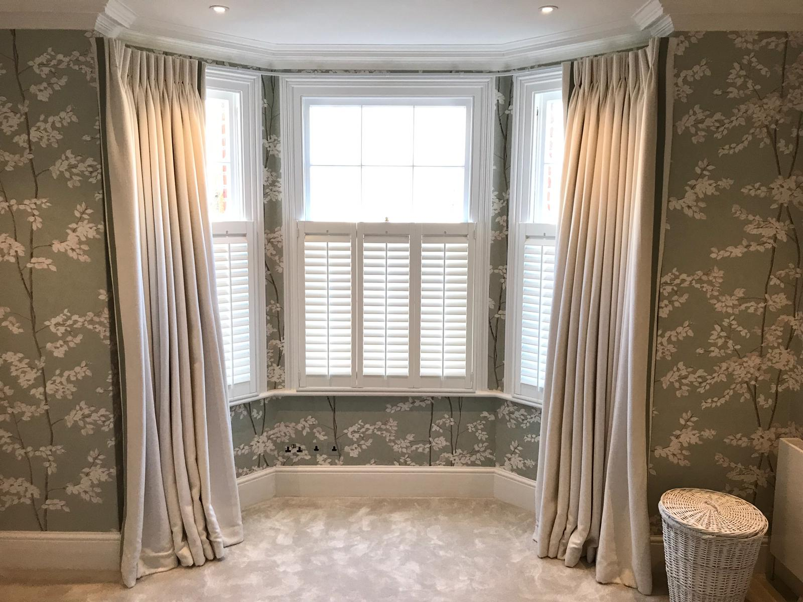 Cafe Style Shutters in Ealing Family Home