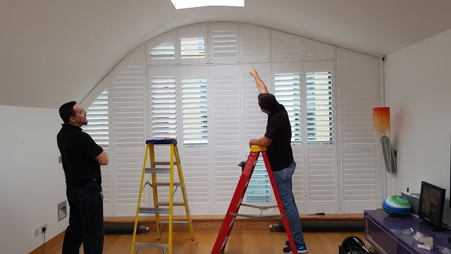White Shutters: Stylish and Affordable