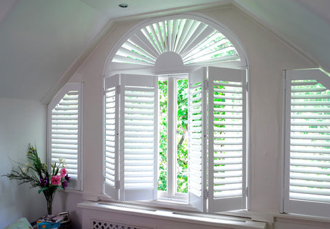 shutters for arched windows and special shapes