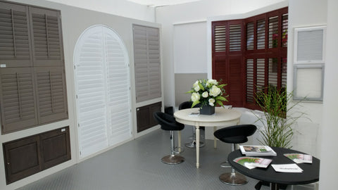 shutter shop product display at decorex
