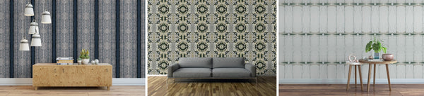 examples of wallpaper by KC Design