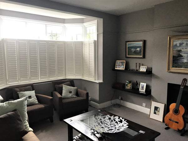 final result of installation of shutters in Richmond home