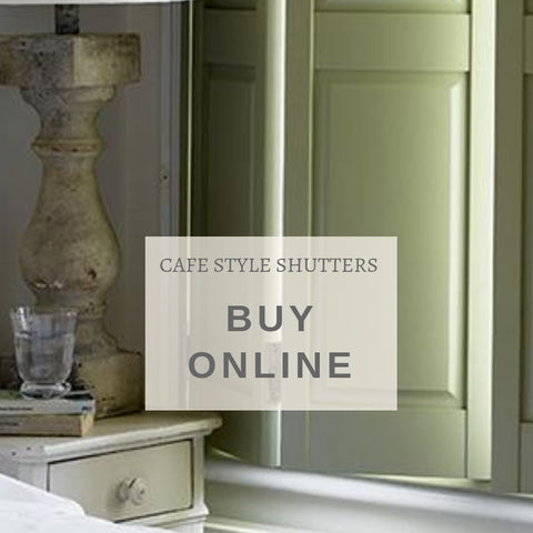 buy online cafe style shutters