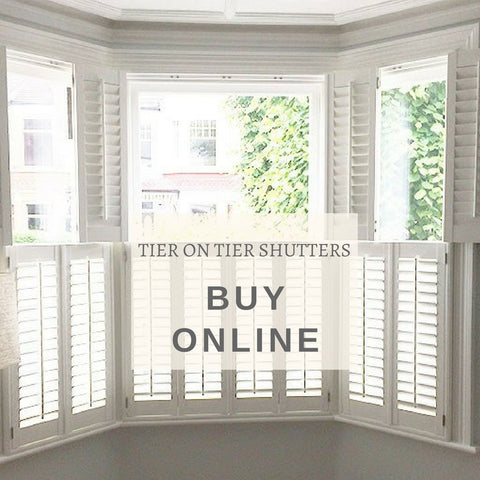 tier on tier kitchen shutters